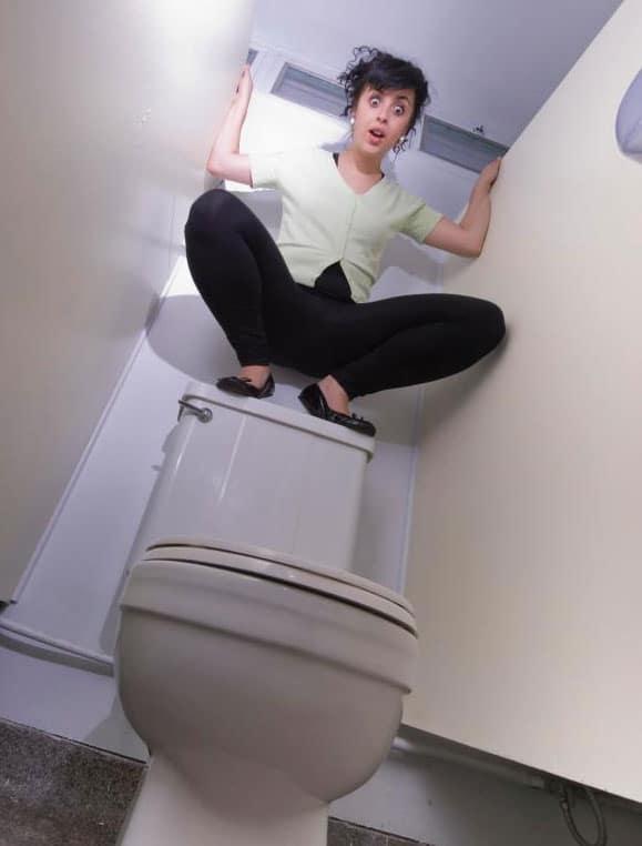 rat in your toilet