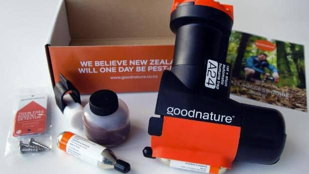 Goodnature automatic a24 rat trap