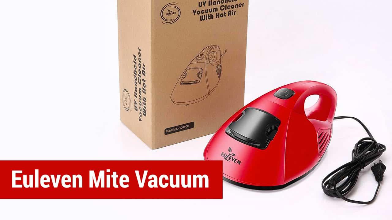 Euleven Hot Wind Anti-Dust Mites UV Handle Vacuum Cleaner