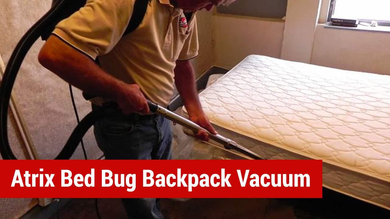 atriix bed bug backpack vacuum
