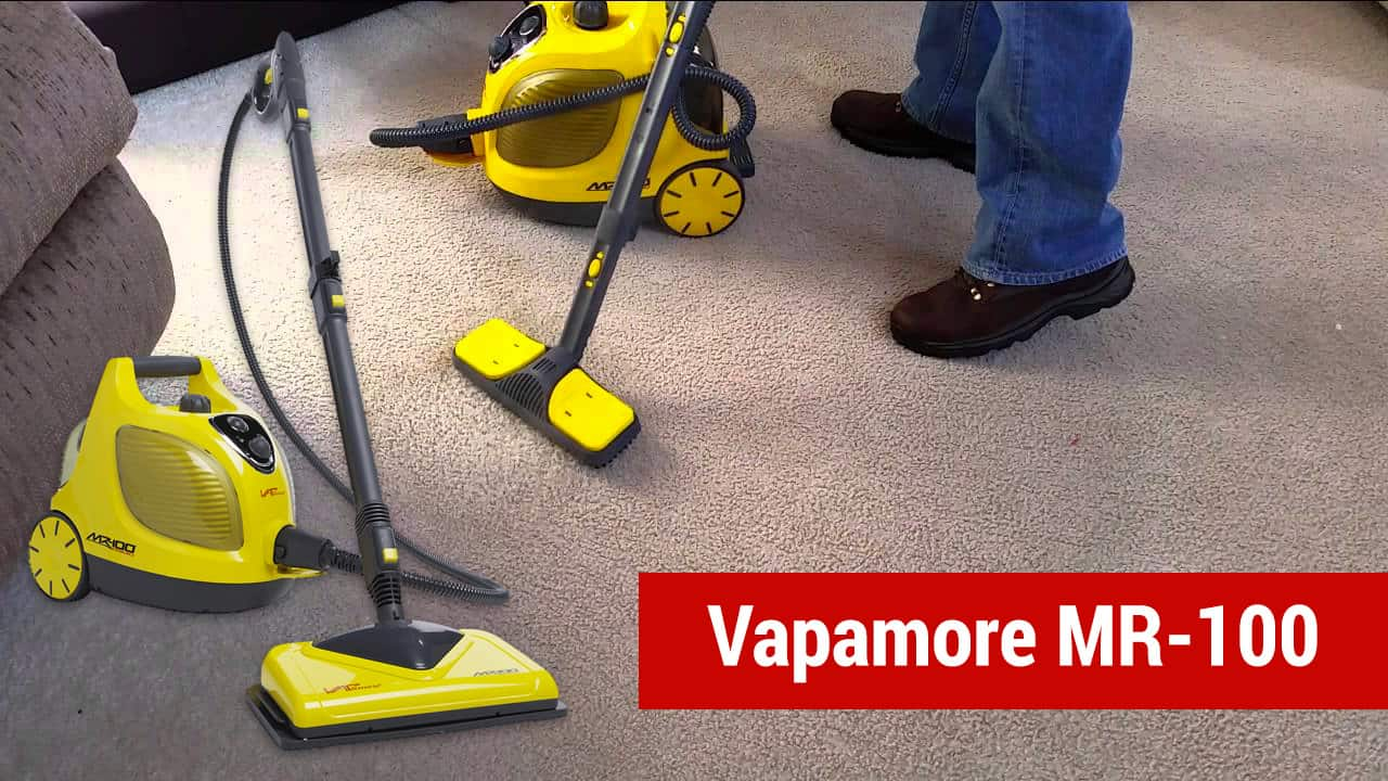 vapamore mr 100 - best bed bug steamer for attachments