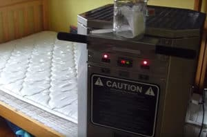 bed bug heater kills bed bugs