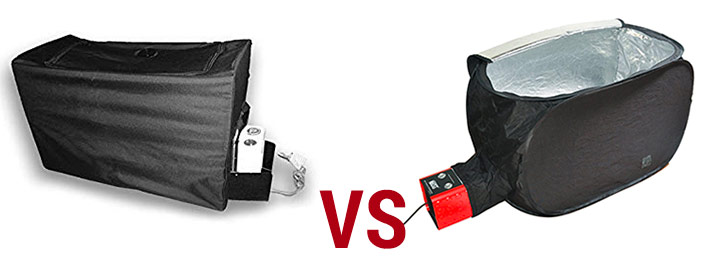 Packtite vs Zappbug heaters