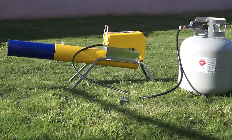 The Zon Mark 4 Propane Cannon