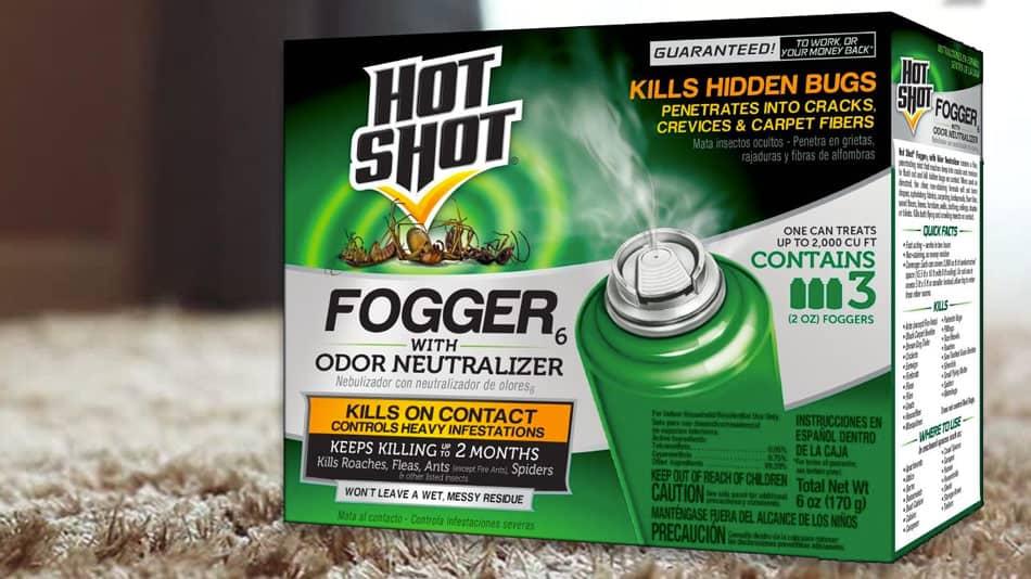 Hot Shot bed bug and flea fogger