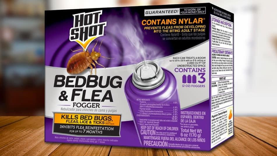 hot shot bed bug and flea killer fogger