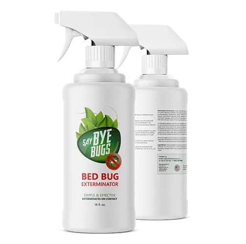 say bye bugs bed bug killer spray
