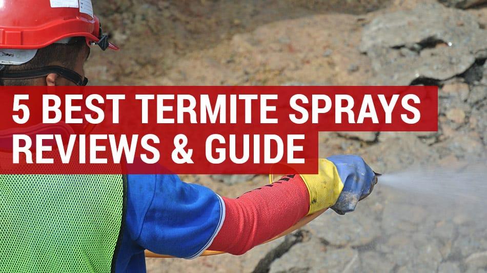 5 best termite killer sprays