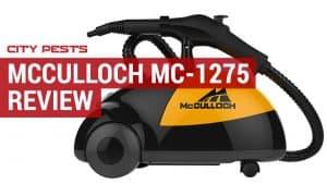 mcculloch mc 1275-heavy duty steamer review