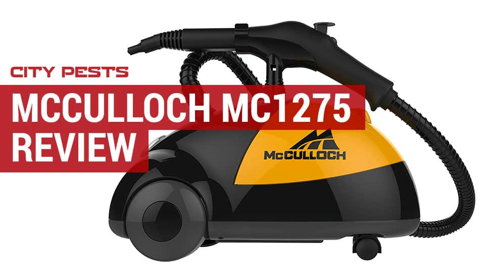 mcculloch mc1275 heavy duty steamer review