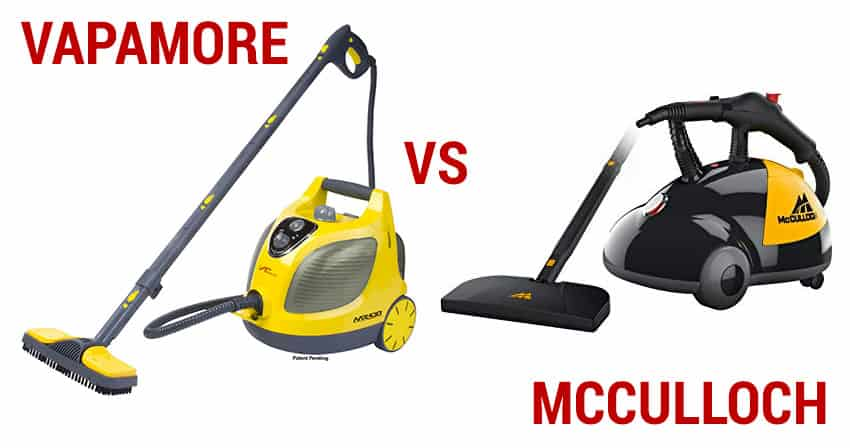 vapamore mr-100 vs mcculloch mc-1275