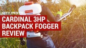 Cardinal 3HP Backpack Mosquito Fogger Review