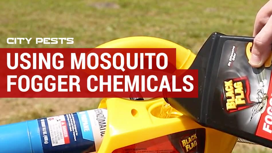 how to use mosquito fogger chemicals