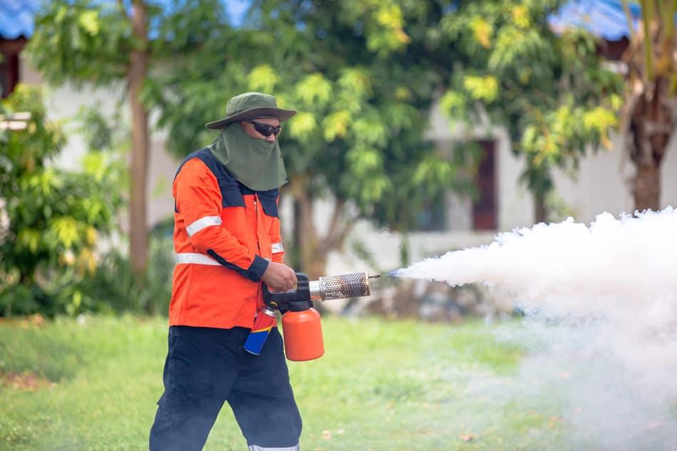 propane mosquito fogger