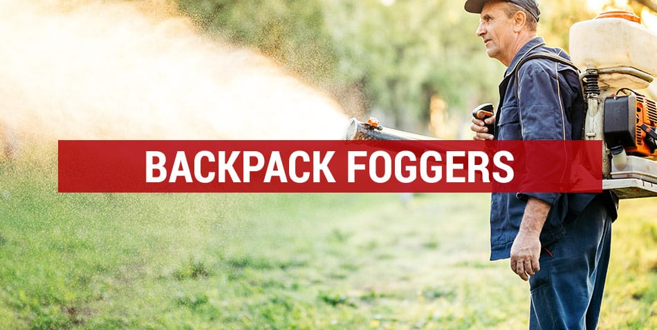 get rid of mosquitoes with backpack foggers