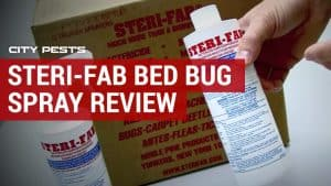 steri fab bed bug spray review
